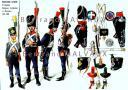 RIGO (ALBERT RIGONDAUD) : LE PLUMET PLANCHE U7 : INFANTERIE LEGERE 9e REGIMENT VOLTIGEUR, CARABINIERS ET CHASSEURS 1804-1808. (1)