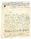 LETTRE D'UN CAPITAINE À L'ARMÉE D'ALLEMAGNE À UN CITOYEN QUI LUI DEMANDAIT DES NOUVELLES DE SON FILS, 23 fructidor an IV (9 septembre 1796), 1796