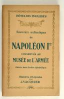 Photo 1 : Hôtel des invalides, souvenirs authentiques de Napoléon 1er