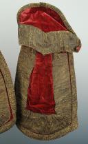 COUVRE-FONTES D'OFFICIER, XVIIIème siècle. (2)
