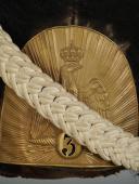 BONNET À POILS DU 3ème RÉGIMENT DES GRENADIERS À PIED DE LA GARDE IMPÉRIALE, MODÈLE 1854, SECOND EMPIRE (1854-1860). (2)