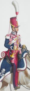 1824. Garde Royale. Chasseurs. Trompette. (2)