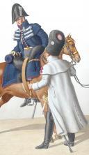 Photo 2 : 1824. Garde Royale. Grenadiers à Cheval (2e Régiment). Officier Supérieur, Grenadier.