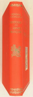 WEYGAND. Histoire de l'armée française.   (2)