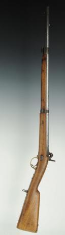 Photo 8 : MOUSQUETON DE GENDARMERIE DE LA GARDE IMPERIALE, modèle 1854.