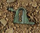 Photo 10 : LOT DE 9 BASSINETS POUR PLATINES À SILEX, PREMIER EMPIRE.