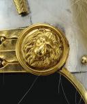 Photo 10 : CASQUE D'OFFICIER OU DE SOUS-OFFICIER DE L'ESCADRON DES CENT-GARDES DE L'EMPEREUR NAPOLÉON III, Second Empire.