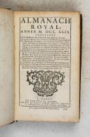 Almanach royal - 1749  (1)