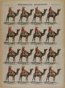 """PELLERIN - """" Méharistes Marocains """" - Imagerie d'Épinal - n° 842"""