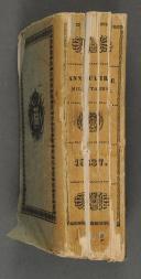 ANNUAIRE MILITAIRE pour l'année 1837.