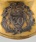 Photo 2 : HAUSSE-COL D'OFFICIER DE LA 30ème DEMI-BRIGADE D'INFANTERIE DEVENUE RÉGIMENT DE LIGNE APRÈS 1803, CONSULAT.
