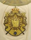 Photo 2 : SOUBREVESTE DE GALA DE L'ESCADRON DES CENT-GARDES DE L'EMPEREUR NAPOLÉON III, SECOND EMPIRE.