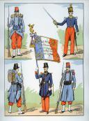 Photo 2 : LARGE HECTOR : LE COSTUME MILITAIRE FRANÇAIS DE LA RÉVOLUTION À LOUIS-PHILIPPE.