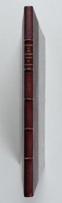 MARTINET. Les troupiers français en miniature, Paris, chez, Martinet, s.d., in-4 demi-rel. chag. prune, dos à nerfs, tête dor. (rel. Lemardeley). (3)