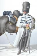 Photo 1 : 1830. Garde Royale. Grenadiers à Cheval (1er Régiment). Maréchal des Logis.