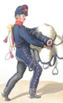 Photo 2 : 1816. Hussards. Trompette (1er Régiment - du Jura), Maréchal des Logis-Chef (3e Régiment - de la Moselle).