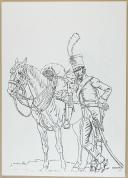 """Photo 5 : LE BIVOUAC - """" P. Benigni, Peintre de l'Histoire 1878-1956 """" - exemplaire n°0075 - Provence côte d'Azur"""