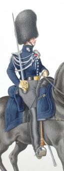 1830. Garde Royale. Grenadiers à Cheval (1er Régiment). Chef d'Escadron. (2)