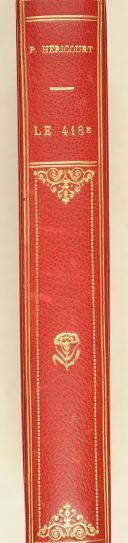 Photo 2 : HERICOURT (P.). Le 418e. Un régiment. Des chefs. Des soldats.