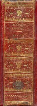 ALMANACH IMPÉRIAL DE 1811. (3)