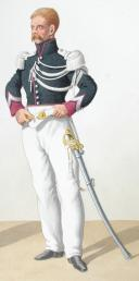 Photo 1 : 1830. Garde Royale. Chasseurs. Trompette, Brigadier.