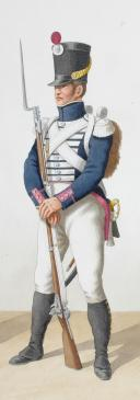Photo 2 : 1816. Garde Royale. Infanterie (5e Régiment). Voltigeur