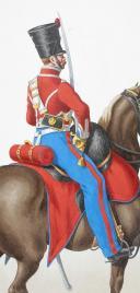 Photo 2 : 1820. Hussards. Lieutenant (4e Régiment - du Nord).