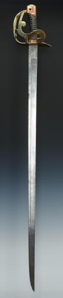"""SABRE DE CAVALIERS ET DE DRAGONS, MODÈLE 1779 MODIFIÉ 1792, DIT """"ARCO"""", RÉVOLUTION. (2)"""