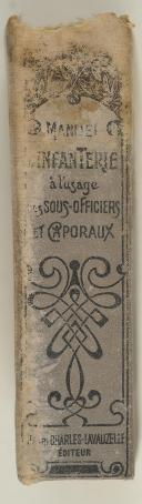 Photo 2 : MANUEL d'infanterie à l'usage des sous-officiers et caporaux.
