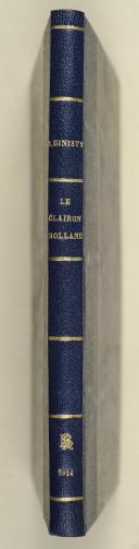 GINISTY (J.). Le clairon Rolland, dernier survivant de Sidi-Brahim, officier de la légion d'honneur. (2)