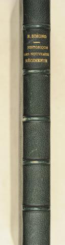 Photo 2 : SIMOND (E.). Historique des nouveaux régiments crées par la loi du 25juillet 1887.