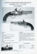 Photo 3 : PISTOLETS & REVOLVERS RÉGLEMENTAIRES FRANÇAIS DE 1730 À 1892