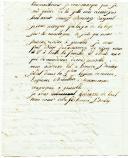 Photo 3 : LETTRE DU SOLDAT HONORÉ BOULAY, 5ème Légion de réserve, 3ème Bataillon, 2ème Compagnie, À SON PÈRE notaire à Cheffes (près d'Angers), datée de Grenoble le 3 octobre 1807.