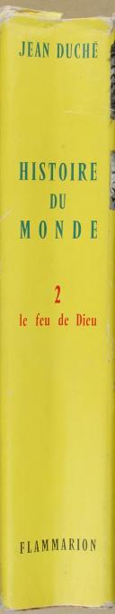 """Photo 8 : DUCHÉ (Jean) - """" Histoire du Monde """" - Le Feu de Dieu, volume 2 - Paris -  le 22 septembre 1960"""