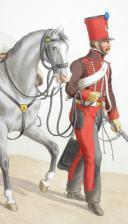 Photo 1 : 1820. Hussards. Hussard (2e Régiment - de La Meurthe).
