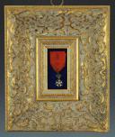 RÉDUCTION D'UNE ÉTOILE DE CHEVALIER DE LA LÉGION D'HONNEUR, quatrième type, PREMIER EMPIRE. (1)