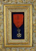 RÉDUCTION D'UNE ÉTOILE DE CHEVALIER DE LA LÉGION D'HONNEUR, quatrième type, PREMIER EMPIRE. (2)