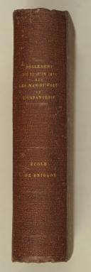 Photo 2 : Règlement : du 12 juin 1875 – sur les manœuvres de l'infanterie