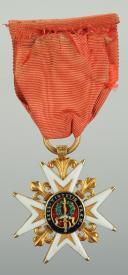 CROIX DE CHEVALIER DE L'ORDRE DE SAINT LOUIS, modèle de l'époque de Louis XVI 1774-1792. (3)