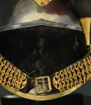 Photo 7 : CASQUE ET CUIRASSE D'OFFICIER DE CUIRASSIERS, modèle 1845, Monarchie de Juillet - Second Empire.