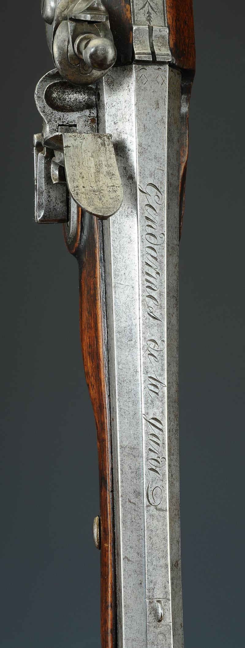 pistolet de gendarme de la maison militaire du roi 1814 1816 restauration. Black Bedroom Furniture Sets. Home Design Ideas