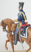 1830. Gendarmerie Royale. Département de la Corse. Gendarme à Cheval.