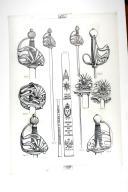 SABRE PRESCRIT PAR MR DE CREMILLE MARS 1760; planche 2, TOME VIII, 2e fascicule 1968. (1)