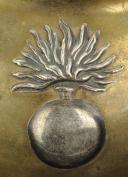 Photo 2 : Officer's gorget. One of the Grenadiers companies of the Line Infantry Regiment. First Empire (circa 1812-1815).