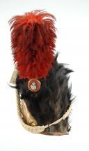 Bonnet à poils de Grenadiers à pieds de la Garde Impériale, modèle 1808, Premier Empire (1808-1805). (5)