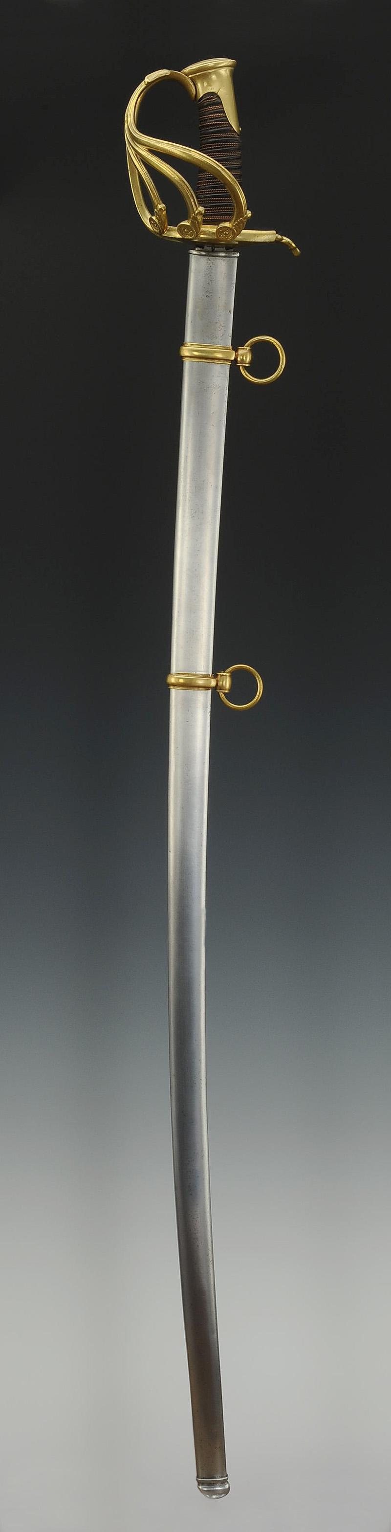 sabre troupe de garde du corps de monsieur  mod u00c8le 1814  restauration