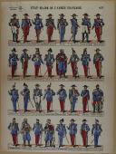 """VAGNÉ et PELLERIN - """" État-Major de l'Armée Française """" - Imagerie réunies - n° 421  (1)"""