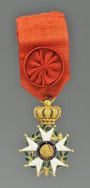 ÉTOILE D'OFFICIER DE L'ORDRE DE LA LÉGION D'HONNEUR, MONARCHIE DE JUILLET.