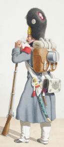 Photo 2 : 1816. Garde Royale. Infanterie Voltigeur (2e Régiment), Grenadier (4e Régiment).