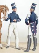 Photo 2 : 1830. Garde Royale. Grenadiers à Cheval (2e Régiment). Brigadier, Maréchal-Ferrant.